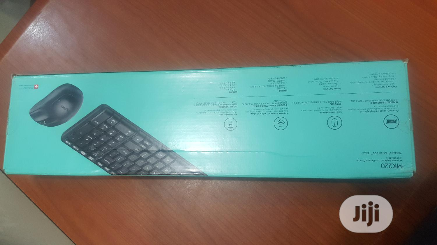 Logitech Wireless Keyboard and Mouse Combo MK220 | Computer Accessories  for sale in Ikeja, Lagos State, Nigeria