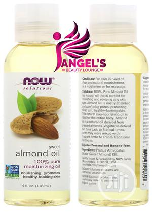 Now Foods Solutions Sweet Almond Oil 4 Fl Oz (118 Ml) | Skin Care for sale in Lagos State, Ojo
