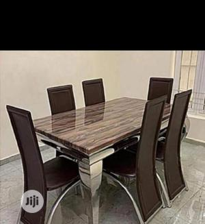 New Marble Dining Table | Furniture for sale in Lagos State, Ikorodu