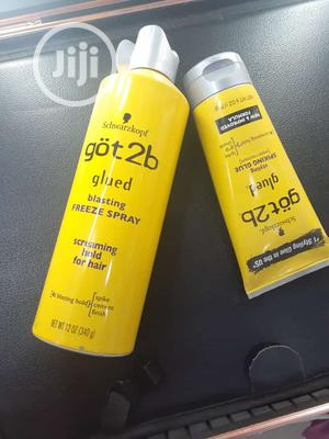 Schwarzkopf Got2b Glued Blasting Freeze Spray, 12 Ounce | Hair Beauty for sale in Lagos State, Amuwo-Odofin
