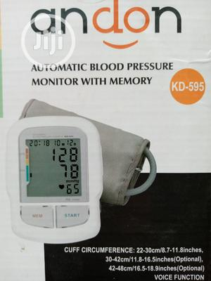 Andon Automatic Blood Pressure Monitor With Memory   Medical Supplies & Equipment for sale in Lagos State, Lagos Island (Eko)