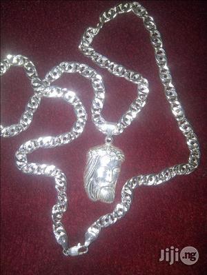 Pure ITALY 925 Original Silver Wit Jesus Piece | Jewelry for sale in Lagos State, Amuwo-Odofin