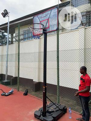 Foreign Basketball Stand Fiberglass   Sports Equipment for sale in Lagos State, Lekki