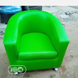 Green Single Bucket Sofa | Furniture for sale in Lagos State, Ikorodu