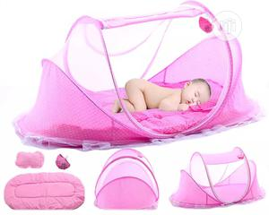Baby Foldable Bed With Mosquito Net Cover   Children's Furniture for sale in Abuja (FCT) State, Dei-Dei
