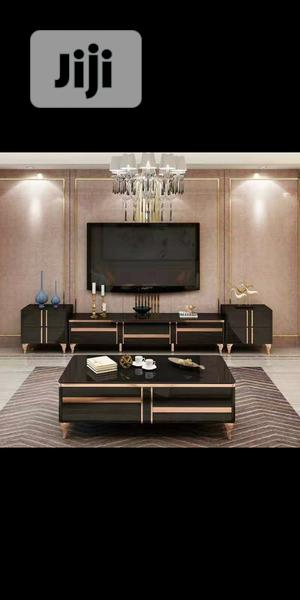 New Design Tv Stand and the Center Table to Match. | Furniture for sale in Lagos State, Ajah