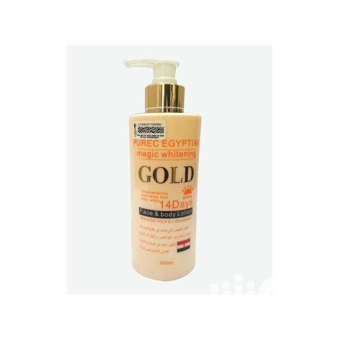 Archive: Pure Egyptian Magic Whitening GOLD Face Body Lotion