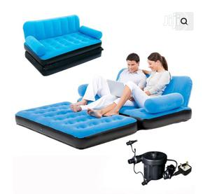 Double Multi-max Air Couch + Electric Pump | Furniture for sale in Lagos State, Lekki