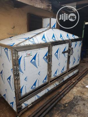Approved Stainless Smoking Kiln For Intending Fish Exporters | Farm Machinery & Equipment for sale in Lagos State, Ikotun/Igando