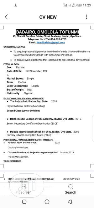 Customer Service CV | Customer Service CVs for sale in Edo State, Ikpoba-Okha