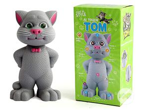 Grey Intelligent Talking Tom Cat Toy for Kids   Toys for sale in Lagos State, Amuwo-Odofin