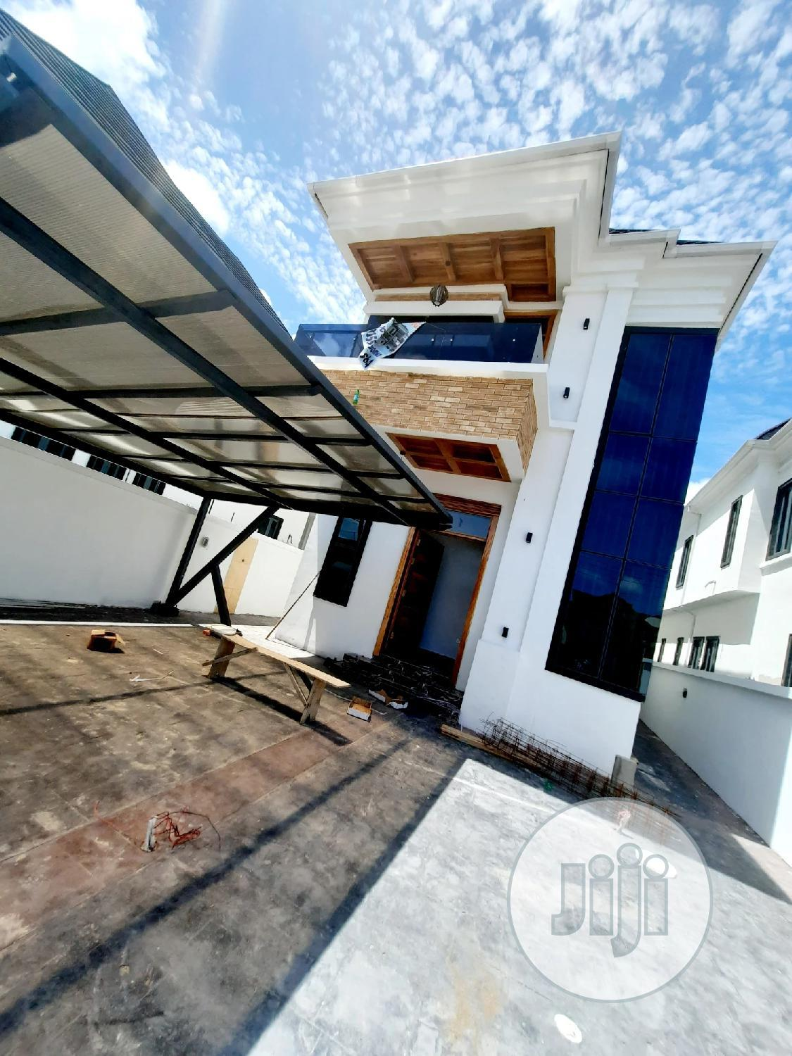 Newly Built Luxury 5 Bedroom Fully Detached Duplex With Bq For Sale