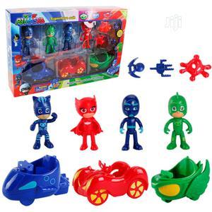 10 PCS/Set PJ Masks Toys Doll With Scooter Box Catboy Owlette Gekko Fi | Toys for sale in Lagos State, Amuwo-Odofin