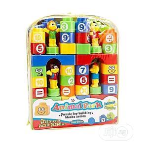 83pcs Wisdom Toy Bricks Train Children Building Blocks | Toys for sale in Lagos State, Amuwo-Odofin