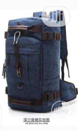Exotic Travel Backpack With Waist Flaps For Jungle Travel   Bags for sale in Lagos State, Oshodi