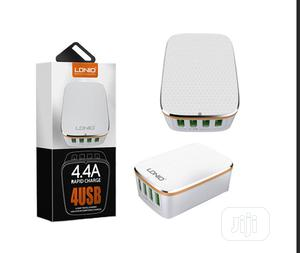 Ldnio 4-port USB AC Charger (5V / 4.4A) | Accessories & Supplies for Electronics for sale in Lagos State, Ikeja