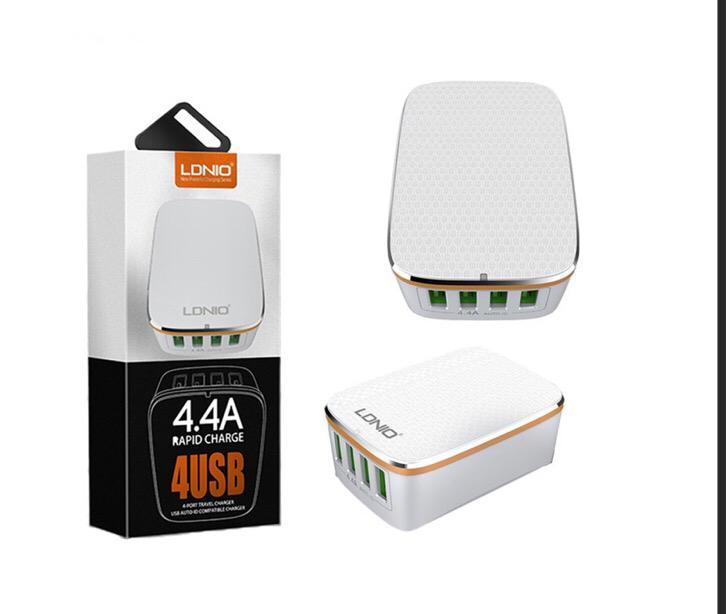 Ldnio 4-port USB AC Charger (5V / 4.4A)