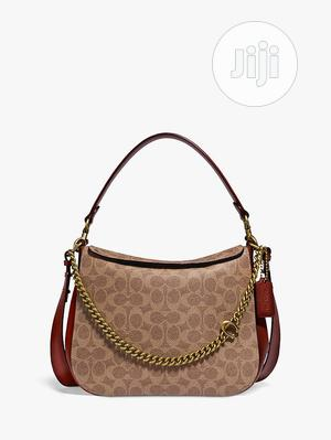 Coach Signature Chain Leather Hobo Bag   Bags for sale in Lagos State, Surulere