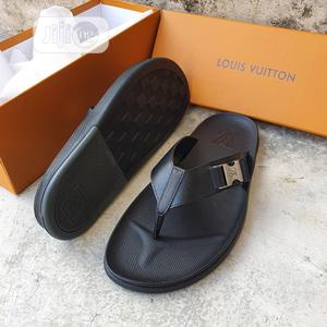 Original Louis Vuitton Black Slippers Available | Shoes for sale in Lagos State, Surulere