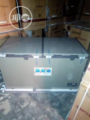 Brand New Snowsea Double Door Chest Freezer, 520L,Silver | Kitchen Appliances for sale in Lagos State, Ojo
