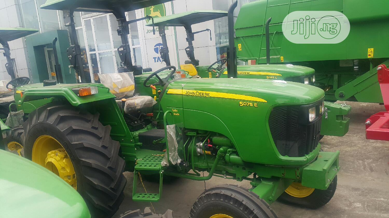 Brand New John Deere 5075E 4wd Tractor