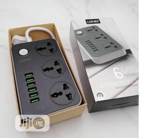 LDNIO SC3604 Power Strip With 3 AC Sockets + 6 USB Ports | Electrical Hand Tools for sale in Lagos State, Ikeja