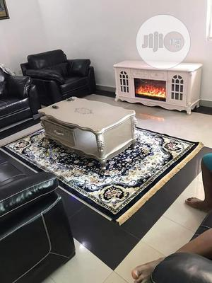 New Imported Arrival Table And Tv Stand Pure Wood Inside Catoon | Furniture for sale in Lagos State, Agege