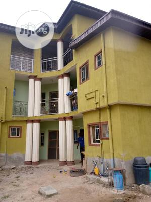 Newly Built And Clean 3 Bedroom Flat for Rent at Command | Houses & Apartments For Rent for sale in Lagos State, Agege