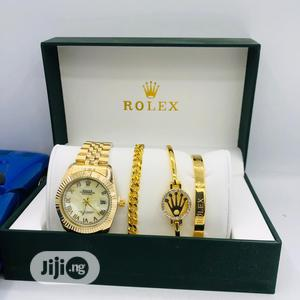 Premium Quality Foreign Designer Wrist Watch With Bracelet   Jewelry for sale in Lagos State, Lekki