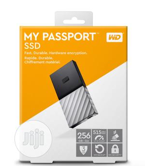 WD 256GB My Passport SSD Portable Storage – USB 3.1 – Black-gray | Computer Hardware for sale in Lagos State, Ikeja