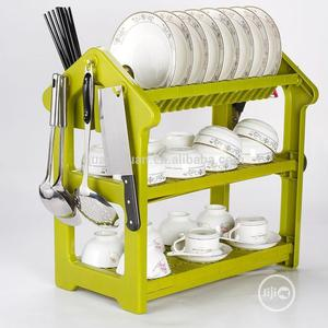 3 Tier Plastic Dish Drainer Plate Storage   Kitchen & Dining for sale in Lagos State, Lagos Island (Eko)