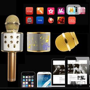 Karaoke Microphone For Phone Bluetooth With Speaker Mic   Audio & Music Equipment for sale in Lagos State, Ikeja