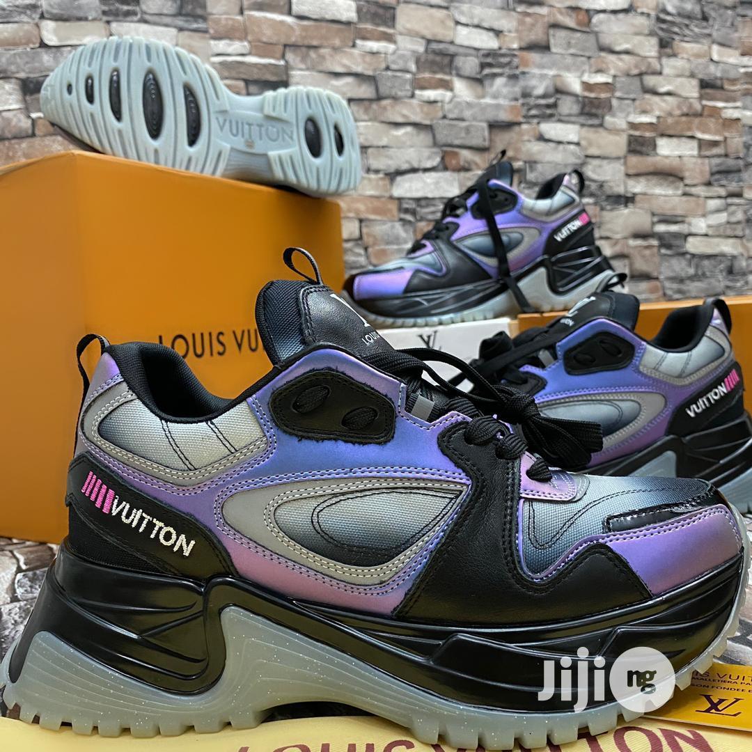 Virgil Abloh Louis Vuitton Men'S Spring 2 Reflective_type Purple Blck