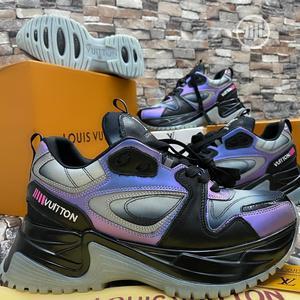 Virgil Abloh Louis Vuitton Men'S Spring 2 Reflective_type Purple Blck | Shoes for sale in Lagos State, Amuwo-Odofin