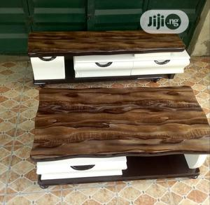 Imported Quality Adjustable TV Stand With Center Table | Furniture for sale in Lagos State, Alimosho