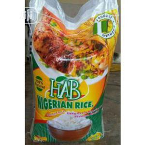 50kg HAB Premium Nigerian Parboiled Rice | Meals & Drinks for sale in Lagos State, Ikeja