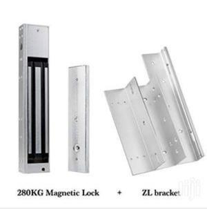 Electro Magnetic Lock Single With (11-280) Z&L Brackets | Computer Accessories  for sale in Lagos State, Ikeja