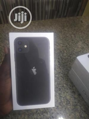 New Apple iPhone 11 64 GB Black   Mobile Phones for sale in Lagos State, Apapa