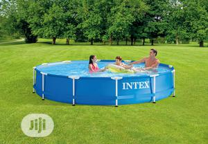 12ft X 30in Round Swimming Pool With Filter Pump   Sports Equipment for sale in Lagos State, Ikeja