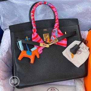 Black Hermes Birkin Bag   Bags for sale in Lagos State, Ikoyi