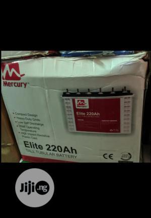 Mercury 220ah 12v Tubular Battery | Solar Energy for sale in Lagos State, Ojo
