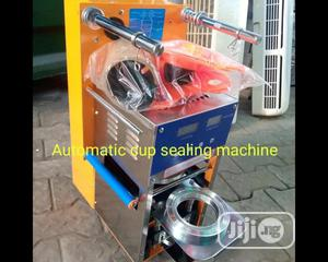 Cup Sealing Machine. | Manufacturing Equipment for sale in Lagos State, Ojo