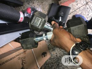 Premium Quality 3kg Hex Dumbbell   Sports Equipment for sale in Lagos State, Ojo