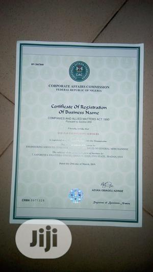 Company Registrations With Corporate Affairs Commission | Legal Services for sale in Oyo State, Ibadan