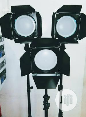 LED Red Head Light With Dimmer (Set Of 3)   Stage Lighting & Effects for sale in Lagos State, Ikeja