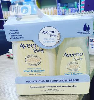 Aveeno Wash And Shampoo Set | Baby & Child Care for sale in Lagos State, Ikeja