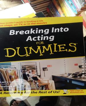 Breaking Into Acting For Dummies | Books & Games for sale in Lagos State, Surulere
