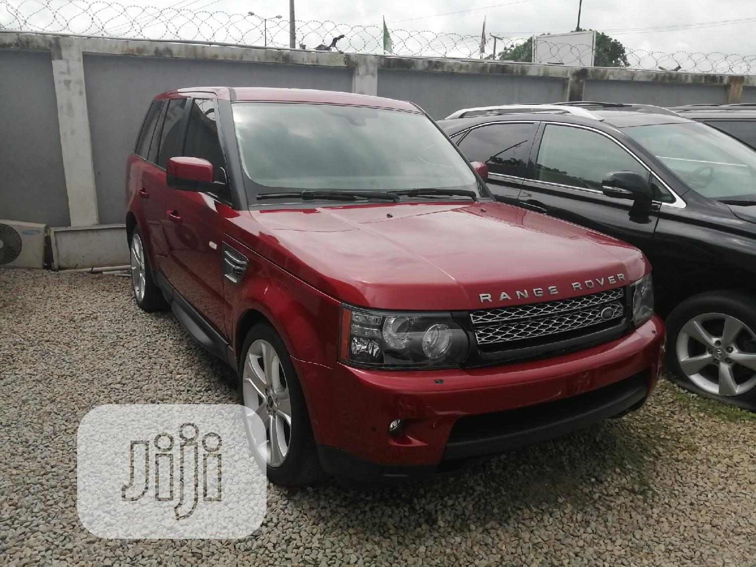 Archive: Land Rover Range Rover Sport 2012 Red