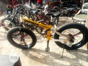 Hummer Bicycle Big Tire Folding | Sports Equipment for sale in Lagos State, Ikeja