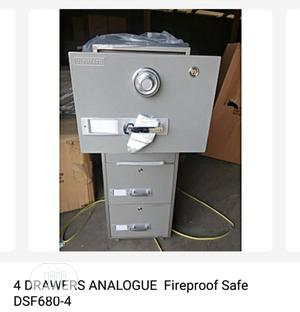 Brand New Imported 4 Drawers Fire Proof Safe With Security Numbers Key | Safetywear & Equipment for sale in Lagos State, Yaba